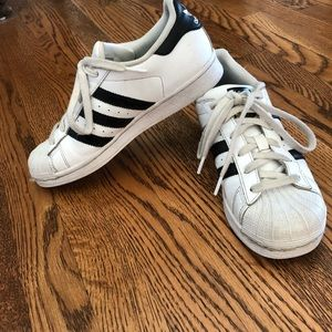 bf4758ac5f4f20 adidas Shoes - Adidas Superstar Classic Tennis shoes size 4 1 2